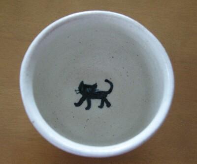 ネコ湯呑み2