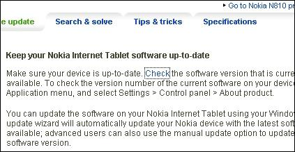 Nokia Europe - Software update