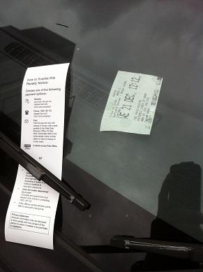 駐禁チケット