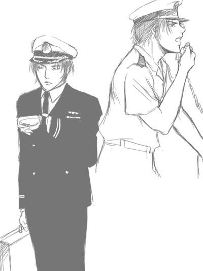 幹部制服。