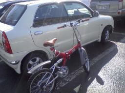 オプティと自転車
