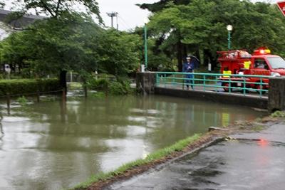 五泉洪水③
