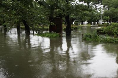 五泉洪水④