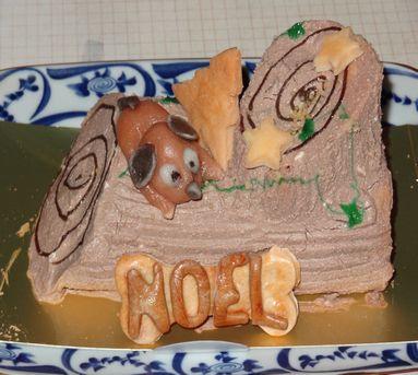 クリスマスケーキ(ワンコ)