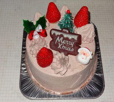クリスマスケーキ(かーちゃん)