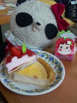 ばぶちゃん ケーキおかわり