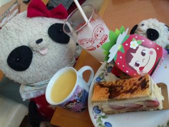 ばぶちゃんケーキおかわり3回目