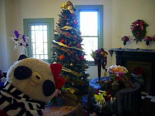 お部屋もクリスマス