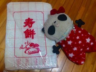 のし餅とばぶちゃん2011