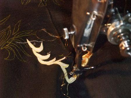 ミシン刺繍アップ