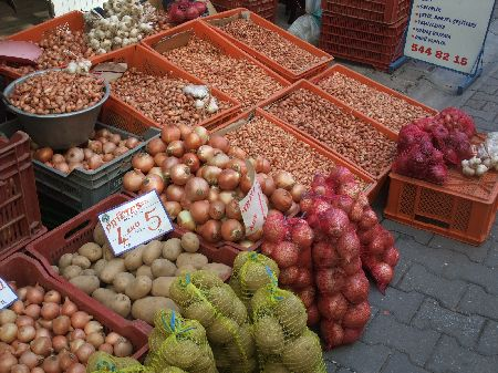 オデミシ野菜市