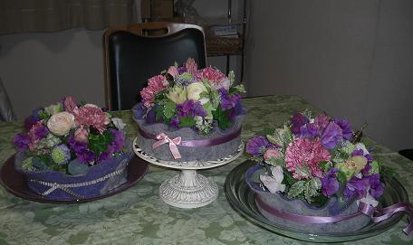 2012 三人の花