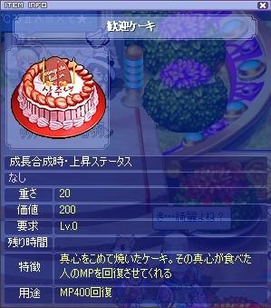 ケーキ大好きです