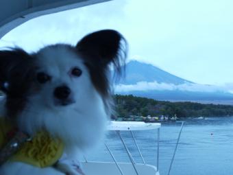 これに乗ると富士山がみえる