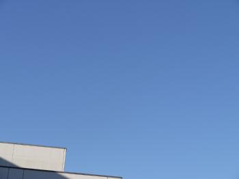 きれいな空ですねー