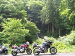 姫翠峡にて