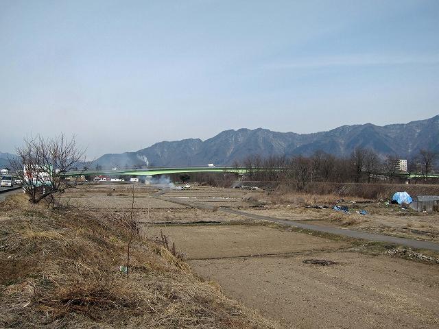 常田新橋遠景