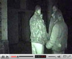 YouTubeより、「VERY SCARY VIDEO OF GHOSTS AND EVP」