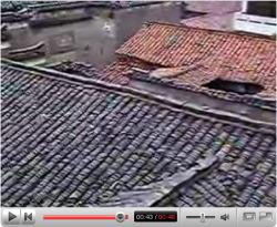 YouTubeより、「安徽省の古民家に宿る霊」