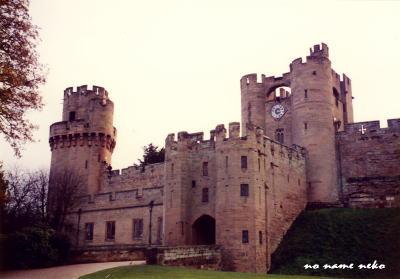 ウォーリック城の外観