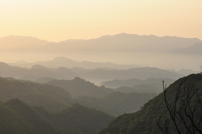 碧山嚴の夜明け(6)