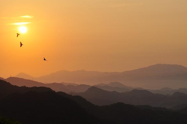 碧山嚴の夜明け(4)