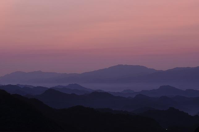 碧山嚴の夜明け(1)