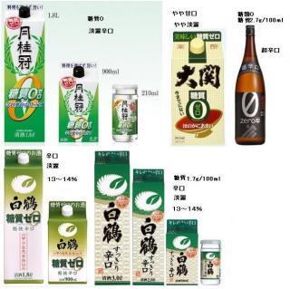 低糖質な日本酒