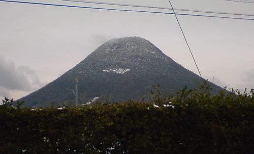 雪化粧・讃岐富士