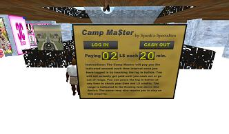 second life camp 自由に歩けるバイト15