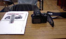 カメラとテキスト類