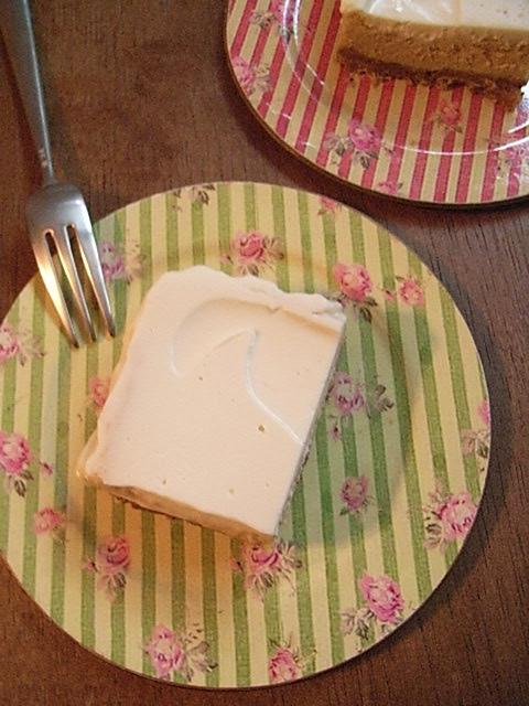 ブラウンシュガーチーズケーキ