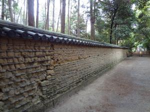 唐招提寺の土塀