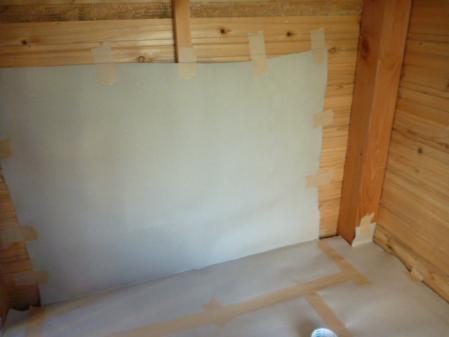 小屋掃除4