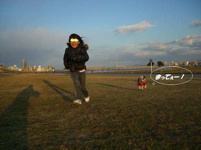 ☆2008 1 1堤防 024