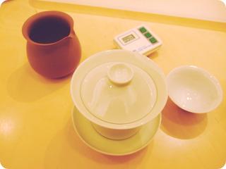 蓋碗で嗜む為のグッズ