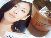 DEW SUPERIORモデル・松雪泰子さん