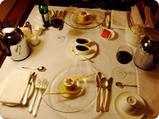 ロマンティックコースディナー