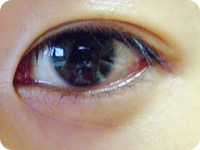 viviの左目