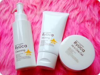 RYUCA [琉香]のフェイスライン