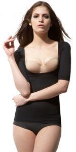胸寄せ5分袖(スーパーハイパワー)・モデル着用