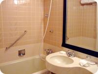 Lフロア・シングルルーム バスルーム