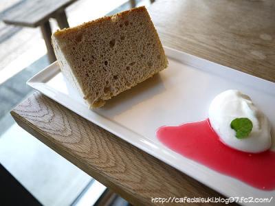 Cafe Obscura◇季節のシフォンケーキ(ラズベリー)