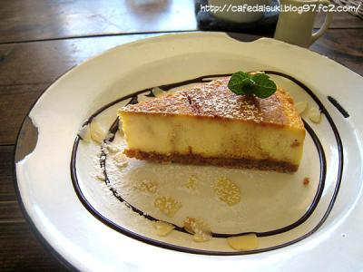 cafe shibaken◇キャラメルチーズケーキ