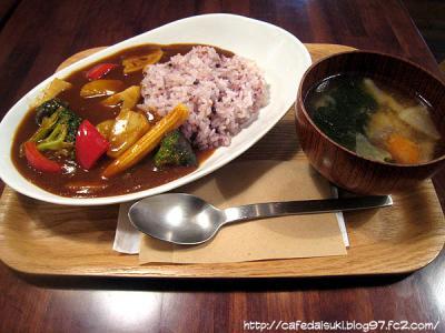 雑穀おにぎりカフェ SHO-AN◇野菜たっぷり雑穀米カレー