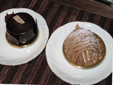 おいしいケーキ!