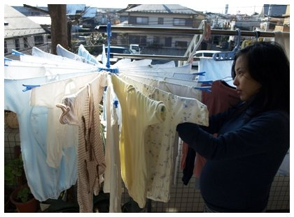肌着の洗濯