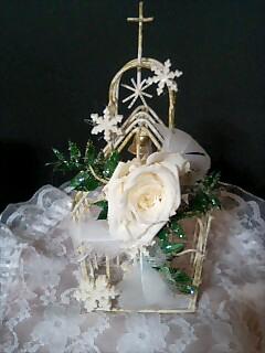 白いチャペルのクリスマス