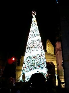 USJクリスマスツリー1