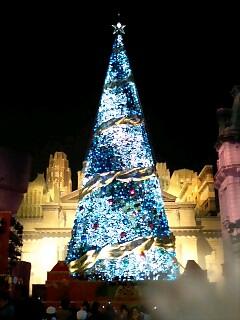 USJクリスマスツリー3